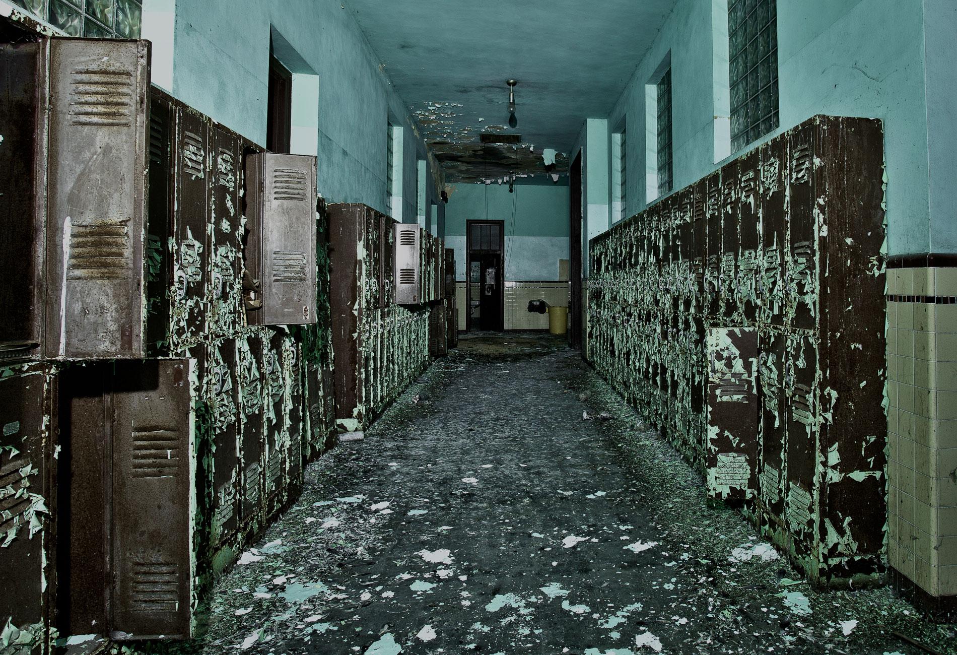 Abandoned School Darren Ketchum