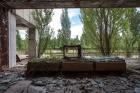 Pripyat Hotel lobby