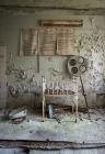 Pripyat Hospital baby crib