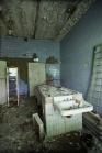 Pripyat autopsy building autopsy table