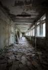 Pripyat Middle School hallway