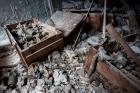 Pripyat Middle School gas mask storage room