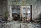 Pripyat Kindergarten classroom and sleeping area